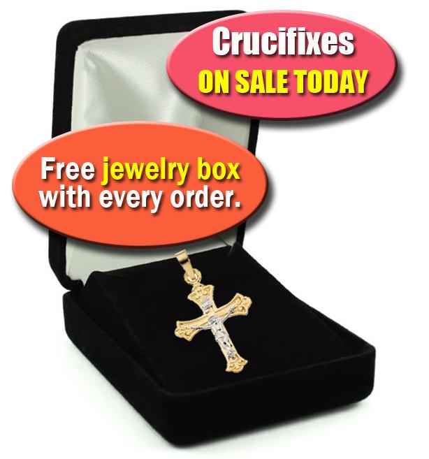 Crucifix jewelry