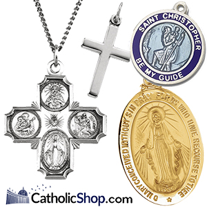 Catholic Jewelry and Religious Saint Medals