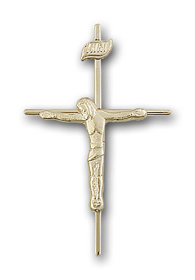 Gold-Filled Crucifix Pendant