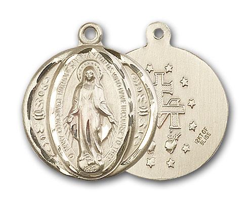 14K Gold Miraculous Medal