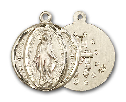 14K Gold Miraculous Medal