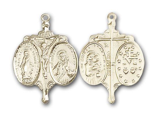 Gold-Filled Novena Pendant