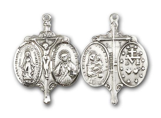 Sterling Silver Novena Pendant