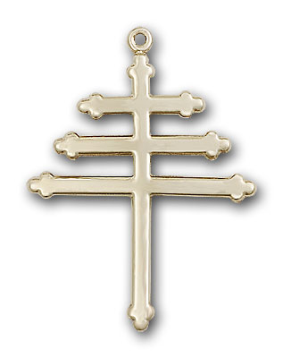 Gold-Filled Marionite Cross Pendant