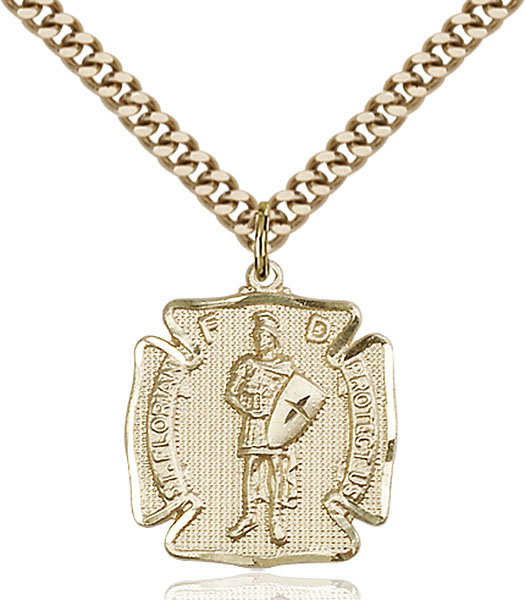 Gold-Filled St. Florian Pendant