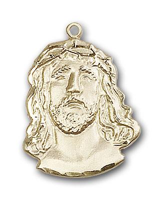 14K Gold ECCE Homo Pendant