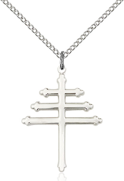 Sterling Silver Marionite Cross Pendant
