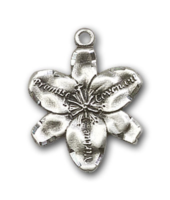 Sterling Silver Chastity Pendant