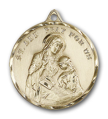 Gold-Filled St. Ann Pendant