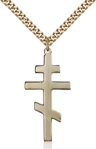 Gold-Filled St. Andrew Pendant