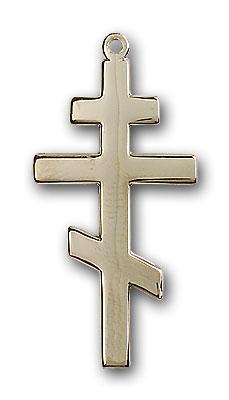 14K Gold St. Andrew Pendant