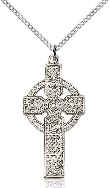 Sterling Silver Kilklispeen Cross Pendant