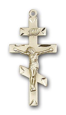 Gold-Filled St. Andrew Pendant