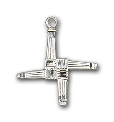 Sterling Silver St. Brigid Cross Pendant
