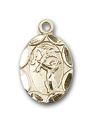 Gold-Filled St. Francis Pendant