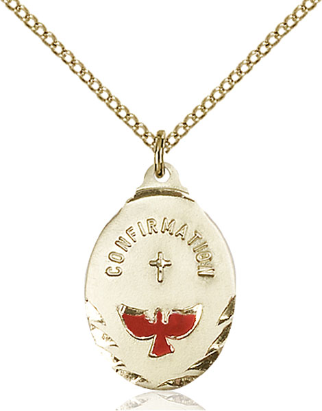 Gold-Filled Confirmation Pendant
