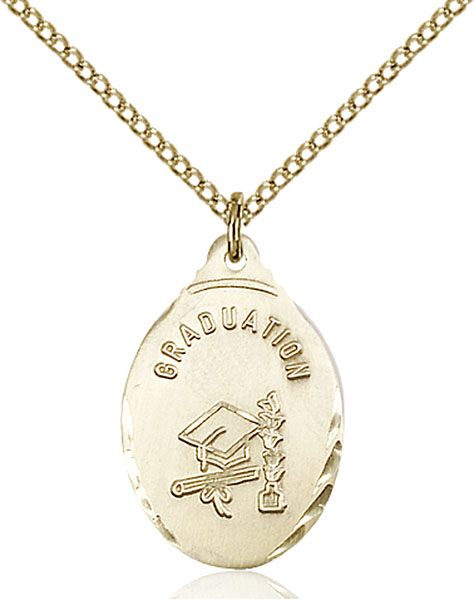 Gold-Filled Graduate Pendant