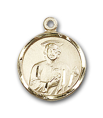 Gold-Filled St. Jude Pendant