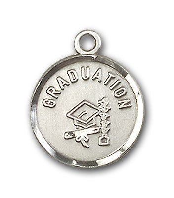 Sterling Silver Graduation Pendant