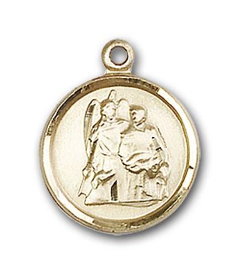 Gold-Filled St. Raphael the Archangel Pendant
