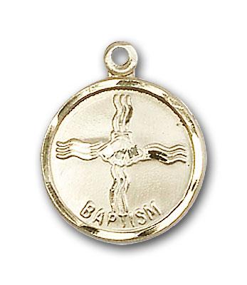 Gold-Filled Baptism Pendant - Engravable