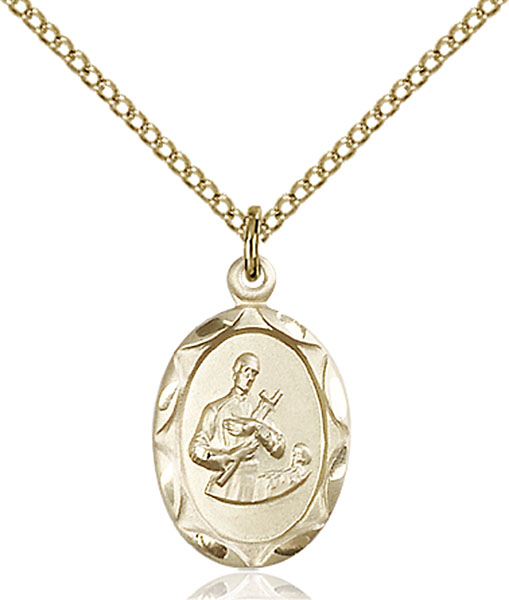 Gold-Filled St. Gerard Pendant