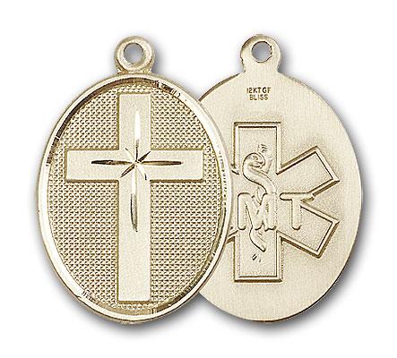 Gold-Filled Cross / Emt Pendant