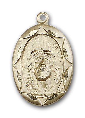 Gold-Filled Ecce Homo Pendant