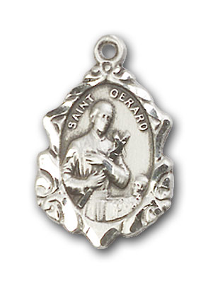 Sterling Silver St. Gerard Pendant
