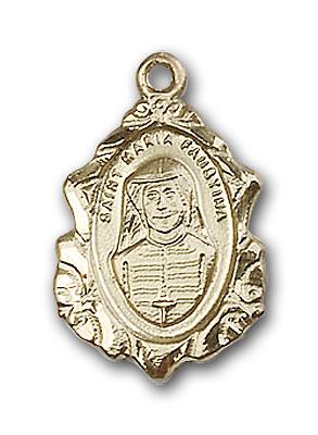 Gold-Filled Maria Faustina Pendant