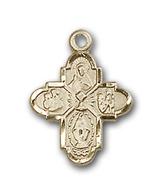 Gold-Filled 4-Way / Chalice Pendant