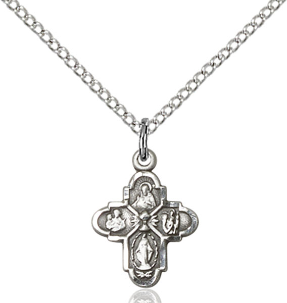 Sterling Silver 4-Way / Chalice Pendant