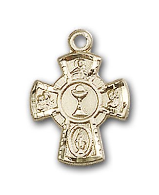 14K Gold 5-Way / Chalice Pendant