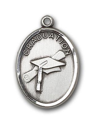 Sterling Silver Graduation Pendant