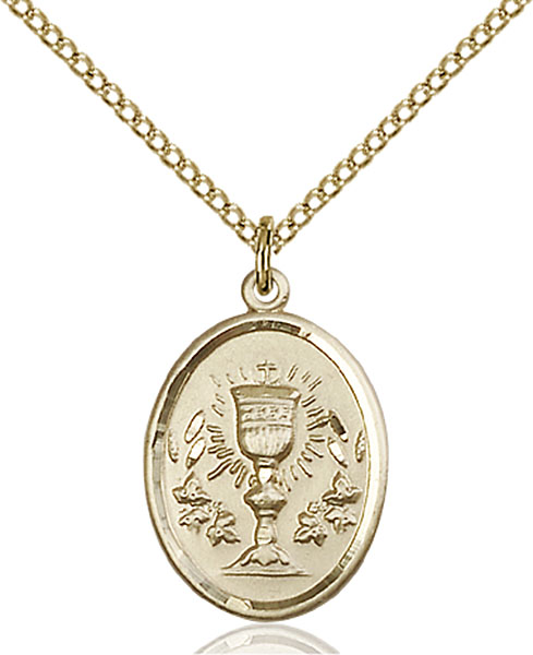 Gold-Filled Chalice Pendant