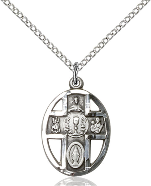 Sterling Silver 5-Way / Chalice Pendant