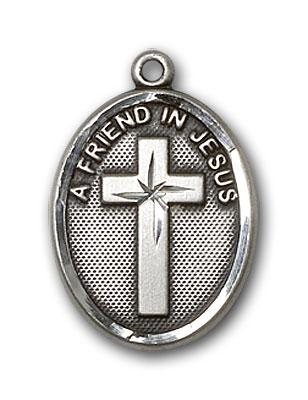 Sterling Silver A Friend In Jesus Pendant