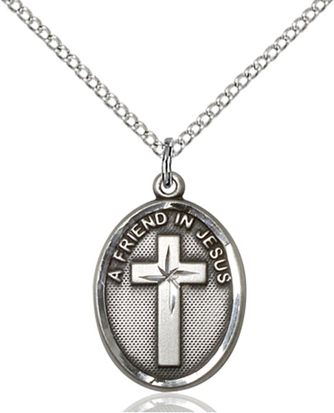 Sterling Silver A Friend In Jesus Pendant