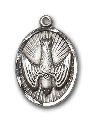 Sterling Silver Holy Spirit Pendant
