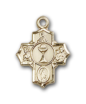 Gold-Filled Communion 5-Way Pendant