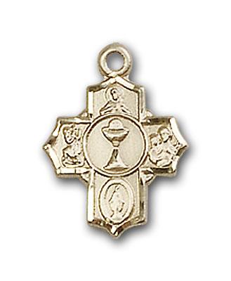 14K Gold Communion 5-Way Pendant