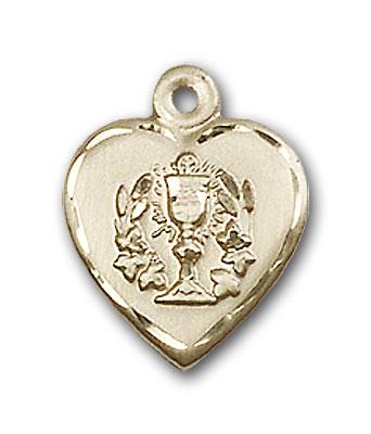 Gold-Filled Heart / Communion Pendant