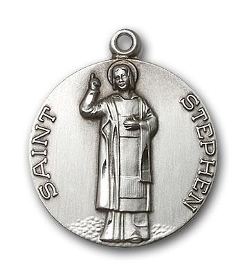 Sterling Silver St. Stephen Pendant
