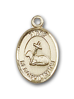 14K Gold First Reconciliation Pendant