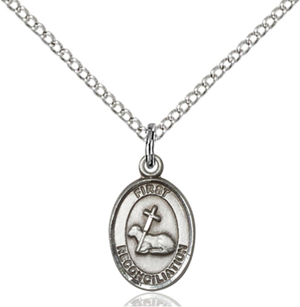 Sterling Silver First Reconciliation Pendant