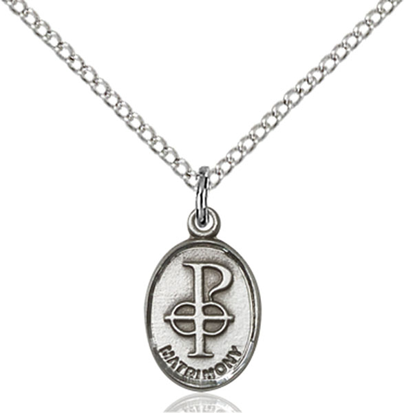 Sterling Silver Matrimony Pendant