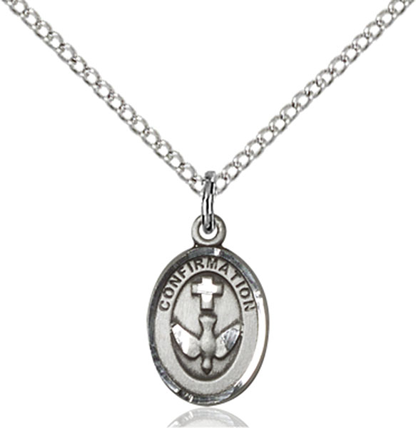 Sterling Silver Confirmation Pendant