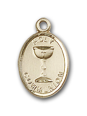 14K Gold Holy Communion Pendant