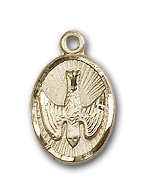 14K Gold Holy Spirit Pendant