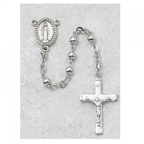 3MM All Sterling Rosary